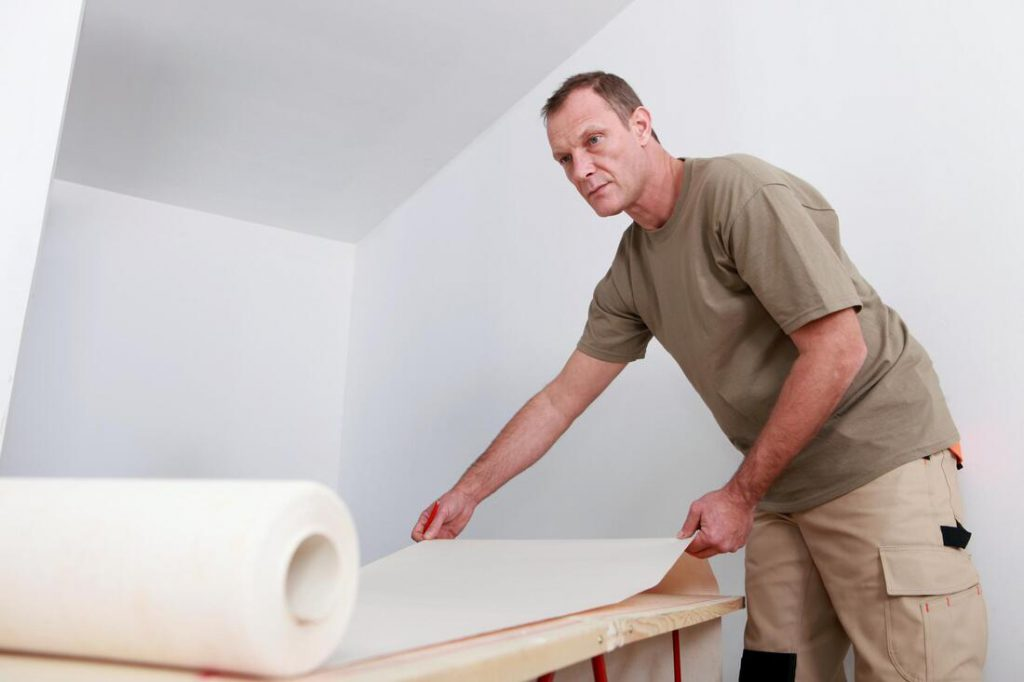 Wall Paper Removal
